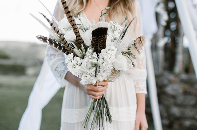 bridal flowers byron bay