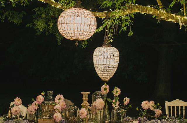 hanging floral design