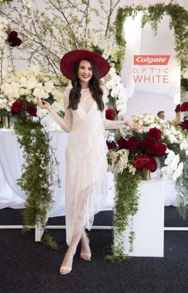 fashion show floral arrangement