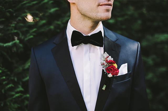 Groom & Groomsmen Suit Flowers