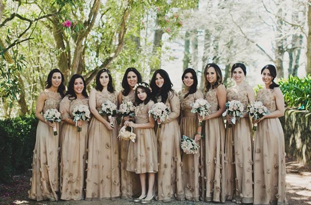 bridesmaids wedding flowers