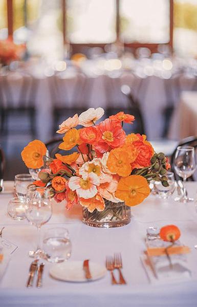 Wedding flower arrangement