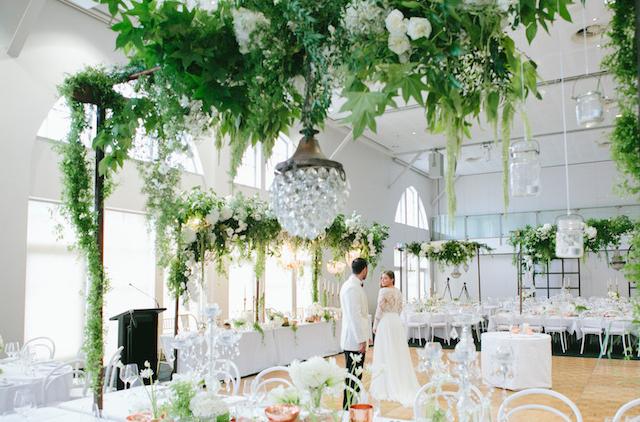 Wedding Tables Floral arrangement