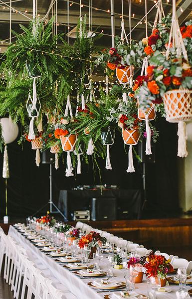 Hanging Flower Ideas